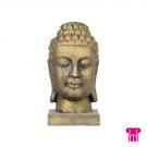 Boeddha hoofd, goud