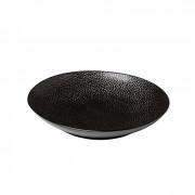 Diepbord reliëf, zwart Ø 25,5 cm