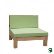 Oak Outdoor loungestoel, mintgroen