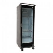 Koelkast met glazen deur, 380 liter