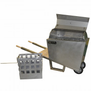 Barbecue MolenKitchen kruiwagen