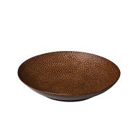 Diepbord reliëf, bruin Ø 25,5 cm