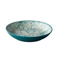 Diepbord Bubble, turquoise, Ø 21 cm