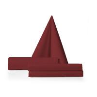 Servet bordeaux rood