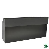 Black Velvet bar, met zwart opzetstuk