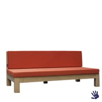 Oak Outdoor loungebank oranje