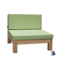 Oak Outdoor loungestoel, mintgroen