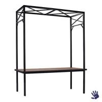 Industrial zittafel met frame