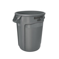 Afvalbak Brute grijs, 121 liter