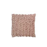 Kussen pink velvet 45x45 cm