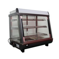 Warmtevitrine tafelmodel, 3 etages 230V