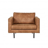 Home - Fauteuil, raw, leer