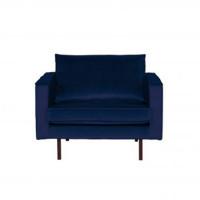 Home - Fauteuil, night blue, velvet