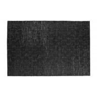 Home - Vloerkleed, zwart jute
