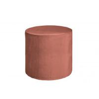 Home - Poef, dusky pink velvet