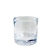 Bestekpot glas, groot