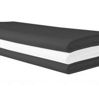 Tafellaken antraciet, 220x220 cm.