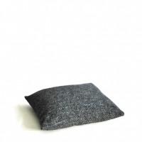 Kussen, grijs gevlekt