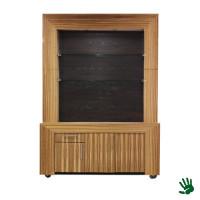 Bamboo achterkast zwart