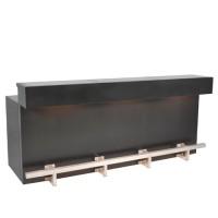 Black Velvet bardeel, met LED verlichting
