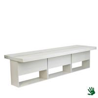 Highlight zittafel lang wit