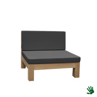 Oak Outdoor loungestoel, grijs