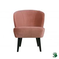 Home - Stoel, dusky pink velvet