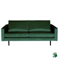 Home - 2,5-zits bank, forest green, velvet