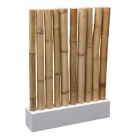 Afscheiding Bamboo, incl. 10 bamboo stokken