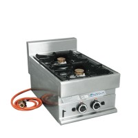 Gaskooktoestel 2-pits, op gas