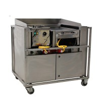 Front cooking unit, met afzuiging