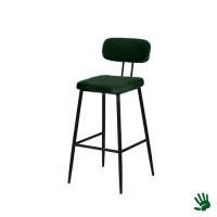 Home - Kruk vierkant, forest green, velvet