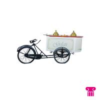 Ijscokar groot, fiets (decor)