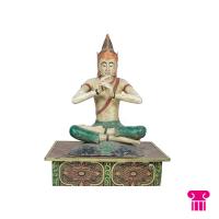 Boeddha zittend fluiter