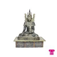 Boeddha zittend, hout