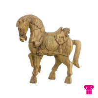 Paard groot bruin