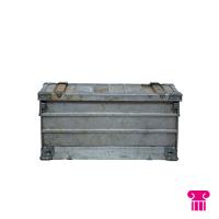Metalen kist klein