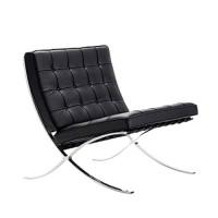 Design fauteuil Britt, zwart