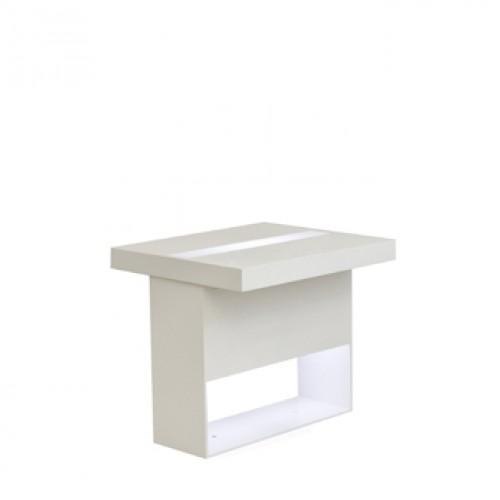 highlight zittafel wit met led verlichting
