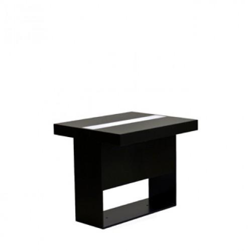 highlight zittafel zwart met led verlichting